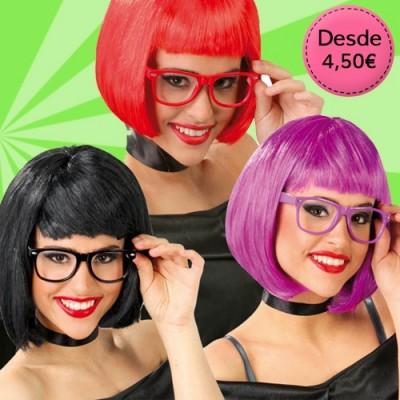 Coloured funny glasses