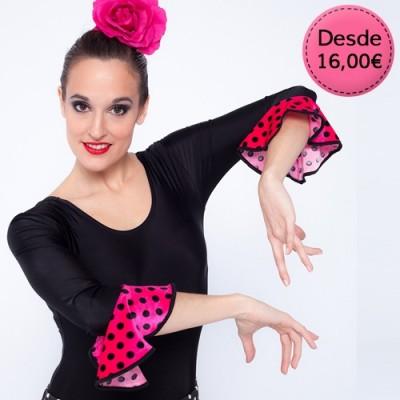 Maillots y Leotardos de Flamenca / Sevillana para Mujer