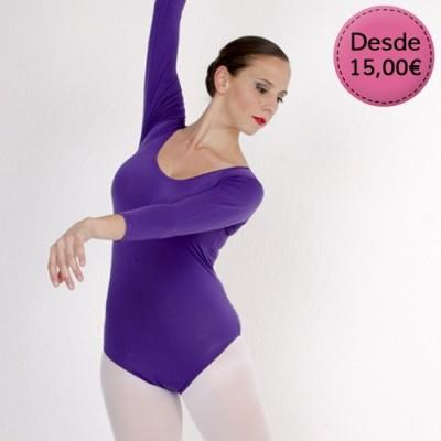 Maillots y Leotardos de Danza / Gimnasia para Mujer