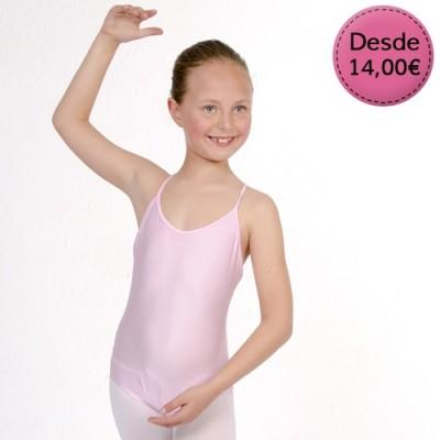 Maillots y Leotardos de Danza / Gimnasia para Niña