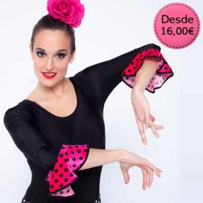 Spanish dance Flamenco & Sevillanas leotards maillots for woman