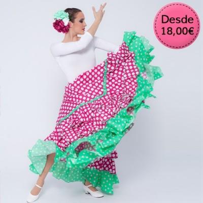 Vestidos y Faldas de Flamenca / Sevillana