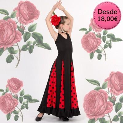 Vestidos y Faldas de Flamenca / Sevillana para Niñas