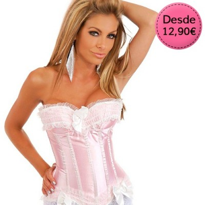 Pink Corsets