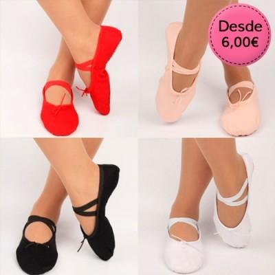 Zapatillas para Ballet y Danza