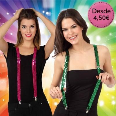 Coloured suspenders