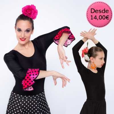Flamenco /Spanish dance leotards & maillots
