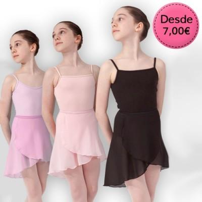 Faldas para Ballet y Danza