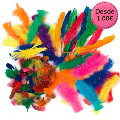 Feathers for Carnival costumes