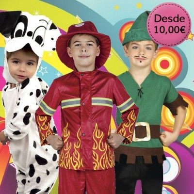 Boy costumes - 1 to 12 years old