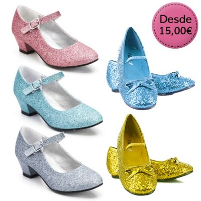 Zapatos con Purpurina para Shows y Espectáculos