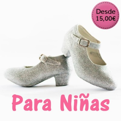 Sparkling shoes for girls