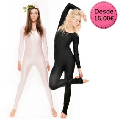 Monos maillots para Ballet y Danza