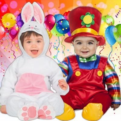 Disfraces baratos para Carnaval - Bebés hasta 1 año