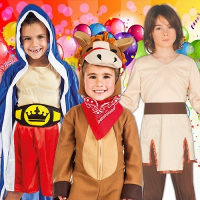 Disfraces baratos para Carnaval - Niños de 1 a 12 años