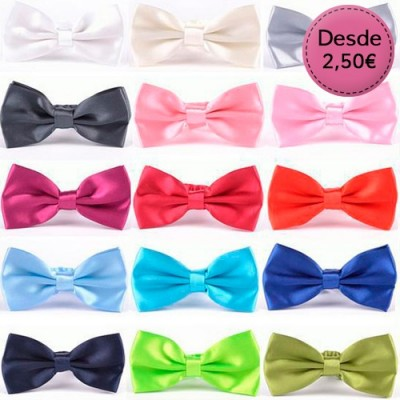 Plain Colour Bow Ties