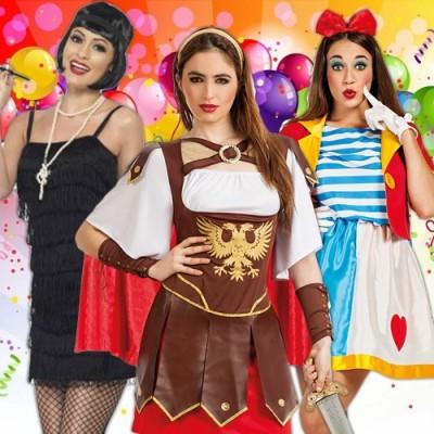 Disfraces baratos para Carnaval - Mujer