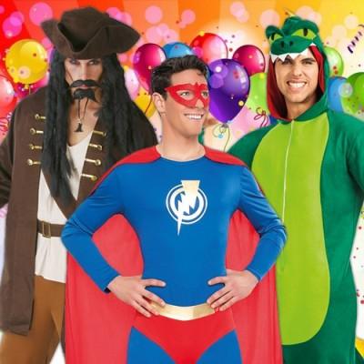 Disfraces baratos para Carnaval - Hombre