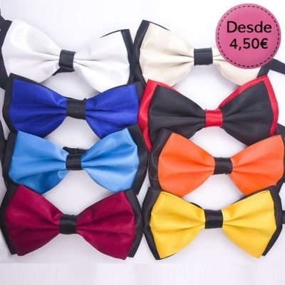 Two-Colour Bow Ties