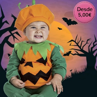 Cheap Halloween costumes for babies - up to 1 year old