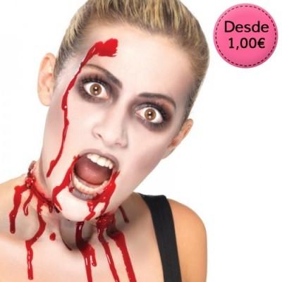 Sangre falsa y Látex para Maquillaje Halloween