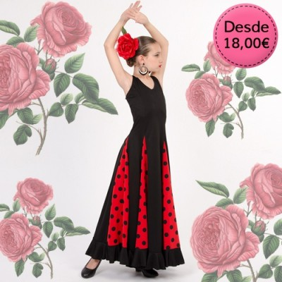 Spanish Flamenco / Sevillana dresses & skirts for girls
