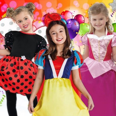 Cheap Carnival costumes for girls - from 1 to 12 years old