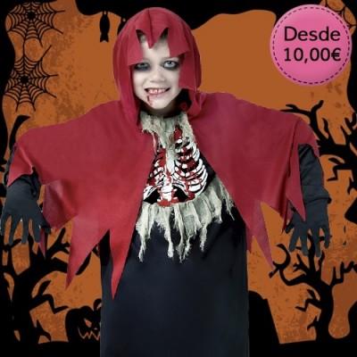Disfraces Niños Halloween - 1 a 12 años